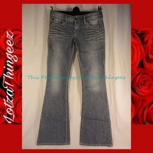 Silver Flare Eden Faded Wash Jeans 27/33
